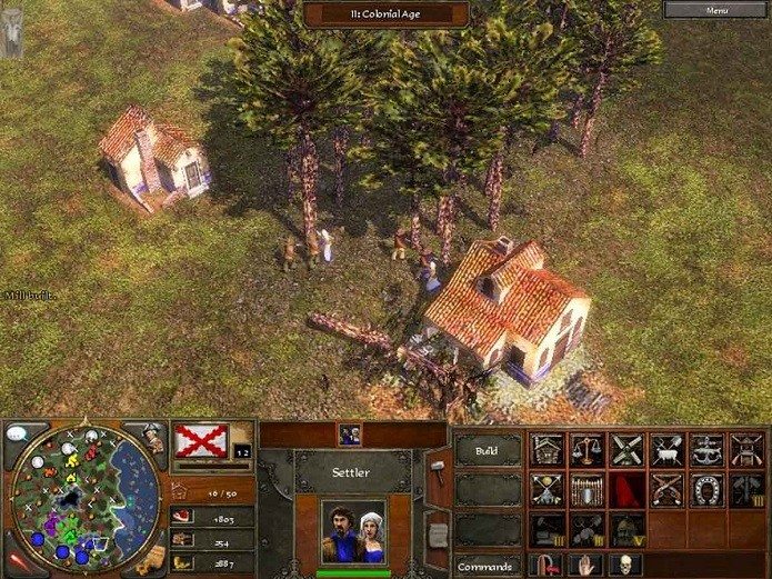Construa casas perto de recursos e deixe seus colonos prontos para explorá-los  (Foto: Divulgação)