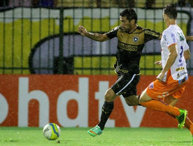 Ferreyra, Duque de Caxias x Botafogo (Foto: Vitor Silva/SSPress)