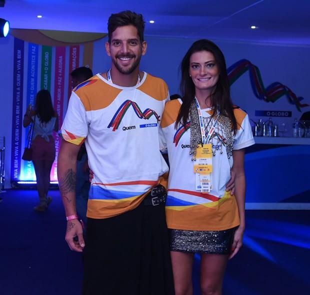 Rossana Agnoletto e Felipe Pezzoni (Foto: Renato Wrobel/ Ed. Globo)