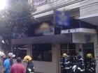 Apartamento tem móveis destruídos por incêndio, no centro de Goiânia