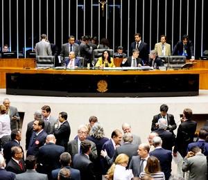 Lei sobre divulgação de impostos foi aprovada nesta terça-feira (13) na Câmara (Foto: Gustavo Lima/Agência Câmara)