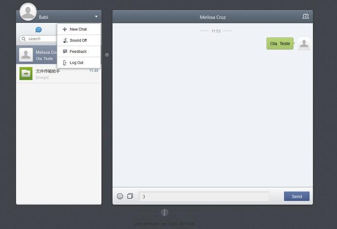 WeChat lança versão web para Windows (Foto: Reprodução/Barbara Mannara)