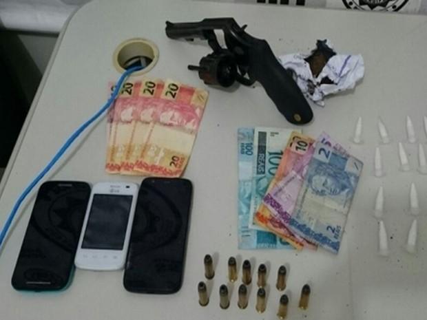Armas foram apreendidas (Foto: SSP/SE)