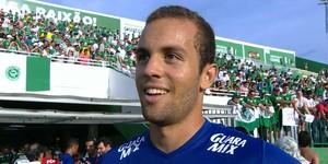 Hugo Ragelli, atacante do Cruzeiro (Foto: Reprodução/TV Globo Minas)