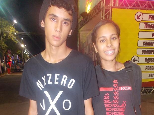 Fãs do NX Zero (Foto: Maiana Belo/G1)