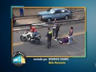 Telespectador registra acidente no bairro São Francisco, em BH