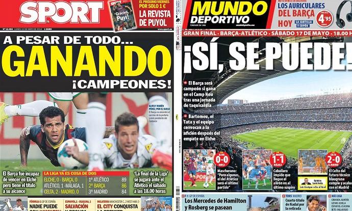 capas de jornais 12-05