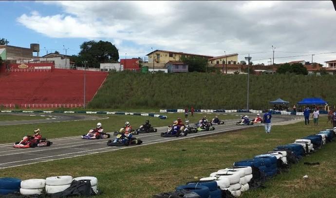 Quarta etapa do Campeonato Maranhense de kart (Foto: Reproduação / TV Mirante)