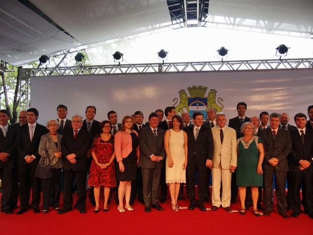 Novos secretários da Prefeitura do Recife tomam posse (Foto: Katherine Coutinho/G1 PE)
