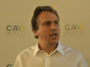 Governador Camilo Santana (Foto: TV Verdes Mares/Reprodução)