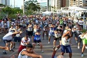 Corrida Bom Jesus de Cuiabá (Foto: Secom/Prefeitura de Cuiabá)