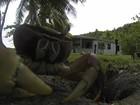 Vídeo flagra caranguejo 'roubando' câmera em resort em Fiji