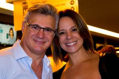 Tadeu Aguiar e Vanessa Gerbelli  (Foto: Bruno Muniz)