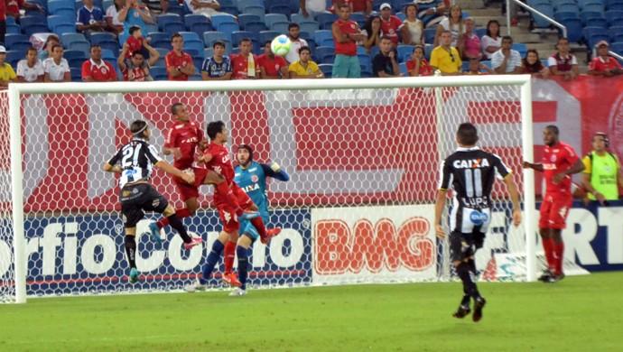 ABC x América-RN na Arena das Dunas (Foto: Jocaff Souza/GloboEsporte.com)
