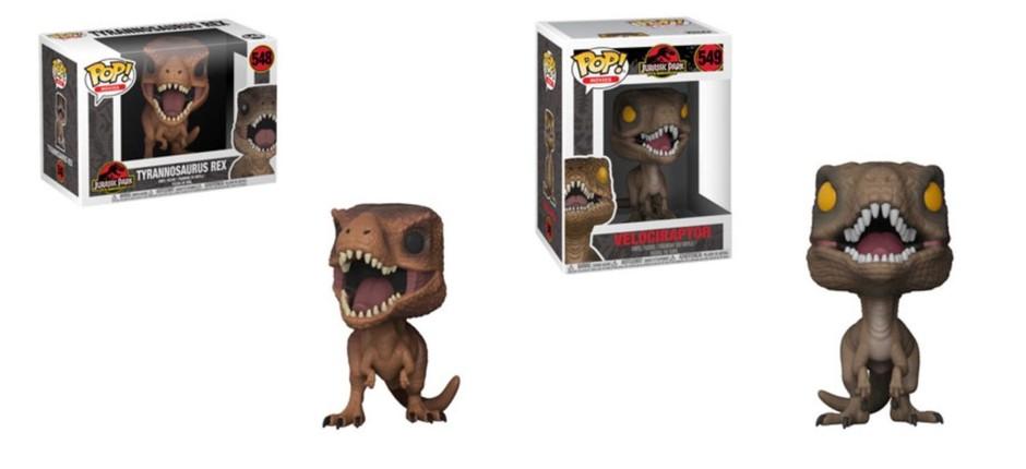 Funko Jurassic Park (Foto: Divulgação)