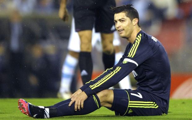 Cristiano Ronaldo, Celta e Real Madrid (Foto: Agência AFP)