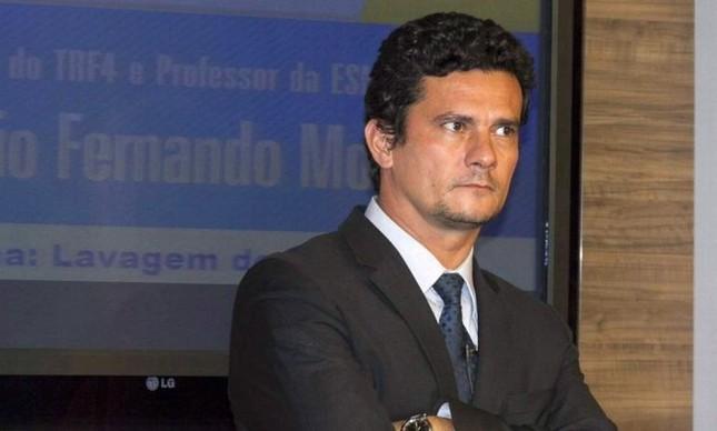 O juiz federal Sérgio Moro (Foto: Paulo Lisboa / Brazil Photo Press / Agência O Globo)