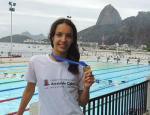 Nadadora Emanuela Rocha (Foto: Arquivo Pessoal)