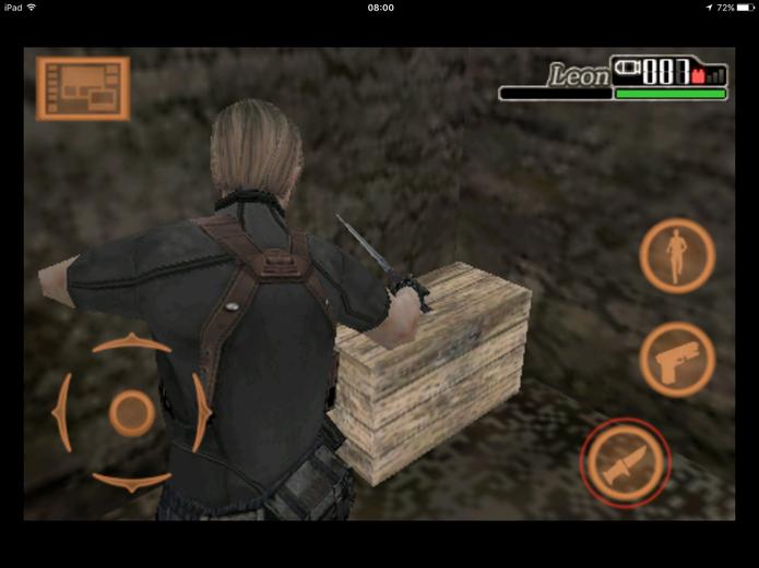 Faca ajuda para economizar munição em Resident Evil 4 (Foto: Reprodução/Felipe Vinha)