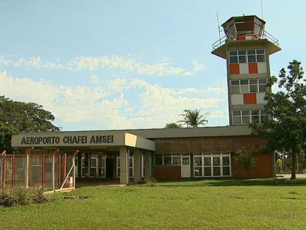 Campanha na internet quer viabilizar voos comerciais em Barretos (Foto: Alexandre Sá/EPTV)