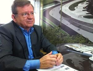 Demétrio Torres, secretário da copa (Foto: Matheus Magalhães/Globoesporte.com)