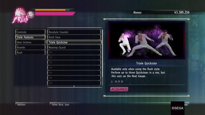 Como evoluir as lutas e o personagem em Yakuza 0 (Foto: Reprodução/Felipe Vinha)