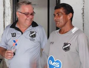 Josué Teixeira - técnico do ABC (Foto: Carlos Cruz/GloboEsporte.com)