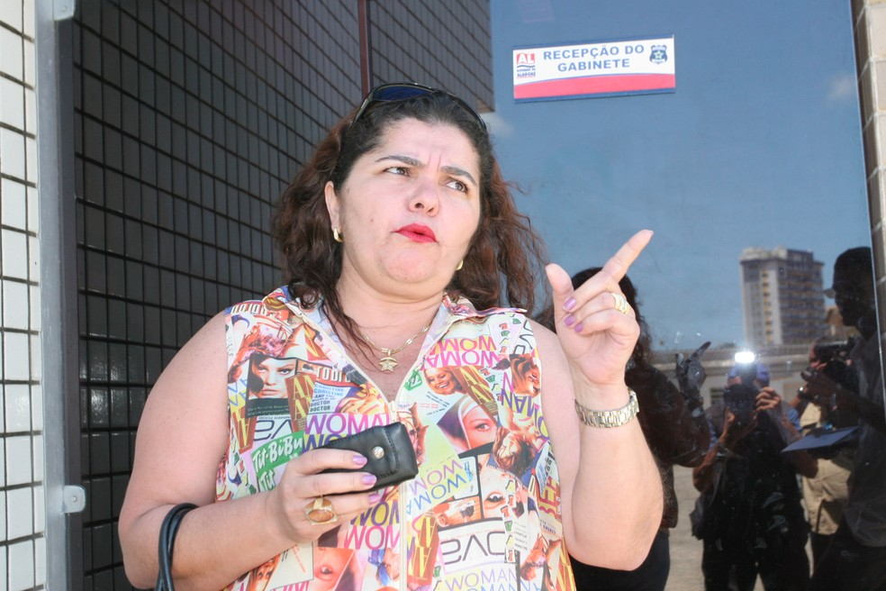 Ex-prefeita de Estrela de Alagoas vai a júri popular nesta terça-feira (Foto: Gilberto Farias/Gazeta de Alagoas)