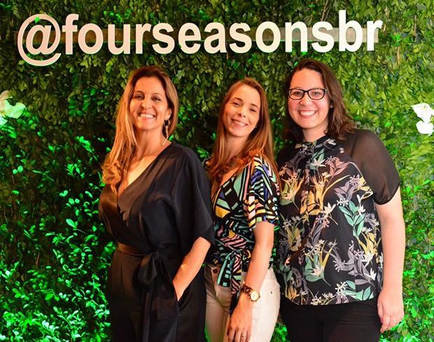 Nilma Raquel, Andréia Wingeter e Gabi Parcher (Foto: Reinaldo Rollo)