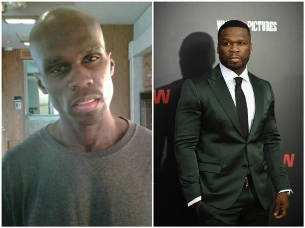 50 Cent em 2011 e 2015 (Foto: Getty Images/Divulgação)