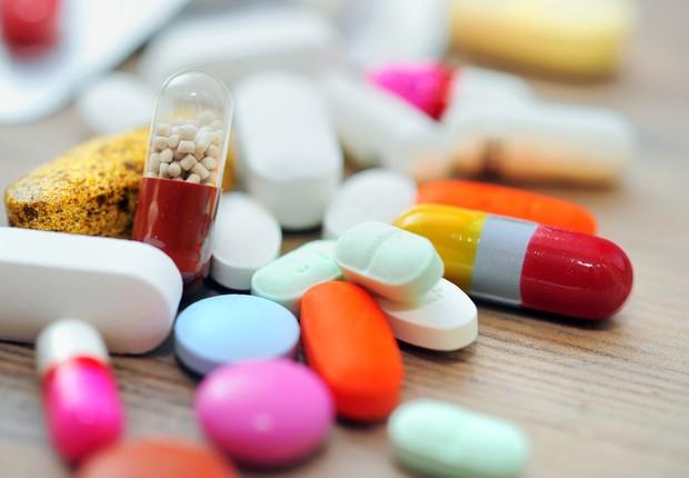 Remédios medicamentos medicina (Foto: Shutterstock)