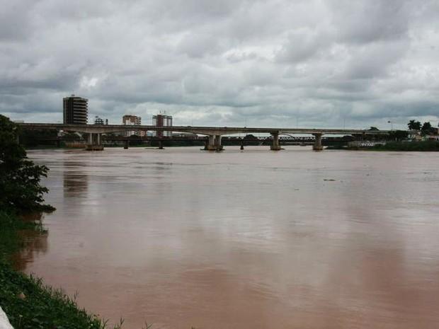Rio Paraíba do Sul está baixando em Campos, RJ (Foto: Divulgação/Prefeitura de Campos)