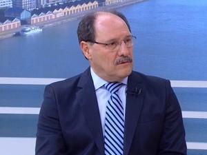 Sartori concede entrevista ao Jornal do Almoço, da RBS TV (Foto: Reprodução/RBS TV)
