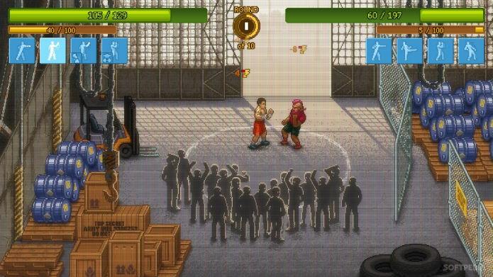 Lute e sobreviva em Punch Club (Foto: Divulgação/Tiny Build)