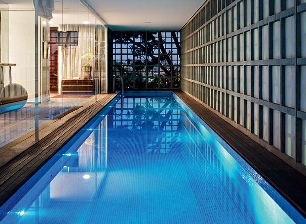 piscina-paisagismo-Isay Weinfeld (Foto: Nelson Kon/Casa e Jardim)