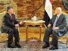 Rei da Jordânia chega ao Cairo em meio a manifestações pró-Morsi
