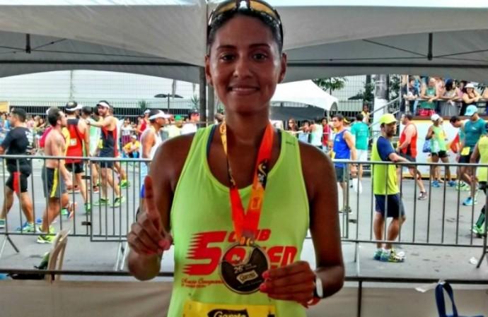 Márcia Casagrande foi a melhor atleta capxiaba na 26ª Dez Milhas Garoto (Foto: Eduardo Dias/A Gazeta)