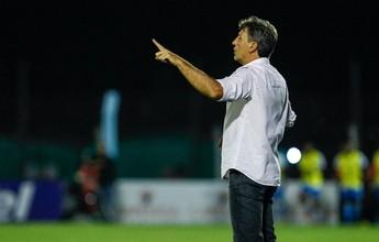"""Renato admite problemas em empate, mas projeta evolução na """"hora H"""""""