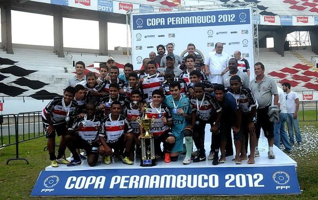 santa copa pernambuco (Foto: Aldo Carneiro / Pernambuco Press)