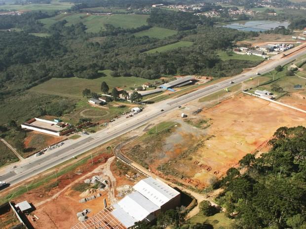 Desvios ficam nos municípios de Fazenda Rio Grande e Mandirituba (Foto: Concessionária Planalto Sul)