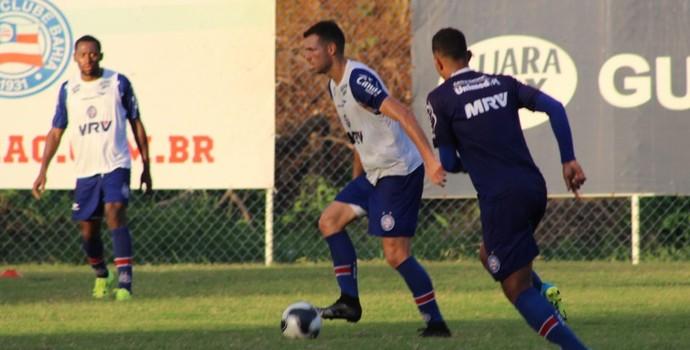 lucas fonseca; lucas fonseca bahia; bahia; treino bahia (Foto: EC Bahia / Divulgação)
