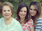 Sandy comemora primeiro Dia das Mães com Noely e avó