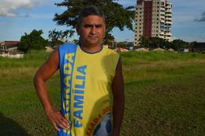 Edilson Gomes, auxiliar-técnico do Andirá (Foto: Nathacha Albuquerque)