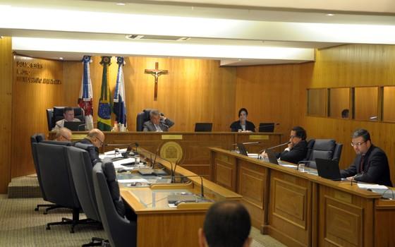 Plenário do Tribunal de Contas do Município do Rio de Janeiro (Foto: Divulgação)