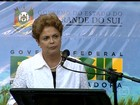Presidente Dilma Rousseff fala sobre a importância de ajustes na economia