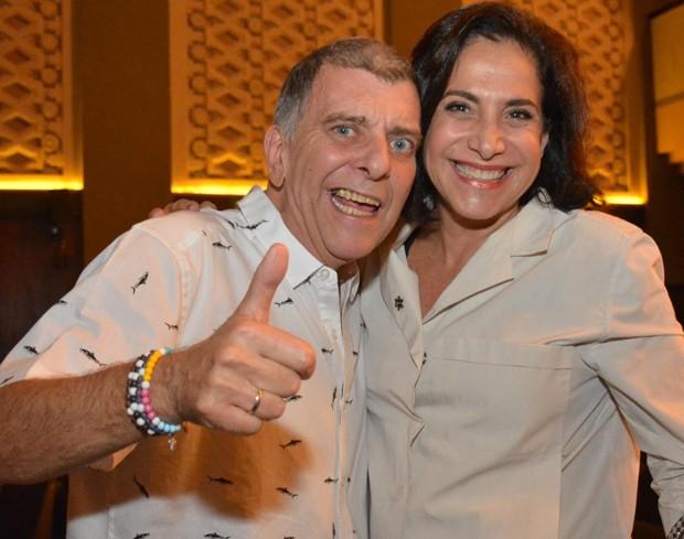 Jorge Fernando e Totia Meireles (Foto: Rodrigo Mesquita/ Divulgação.)