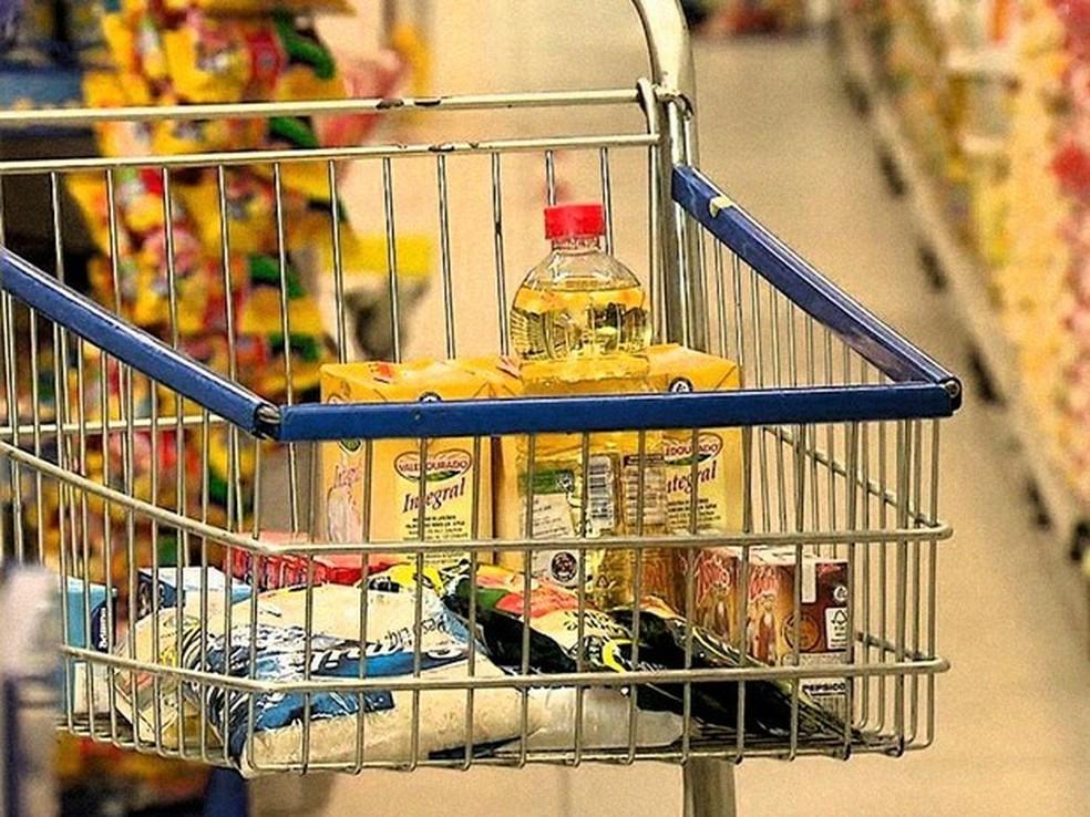 Natal é a segunda capital do Nordeste com menor custo da cesta básica, de acordo com Dieese. (Foto:  TV Globo/Reprodução)