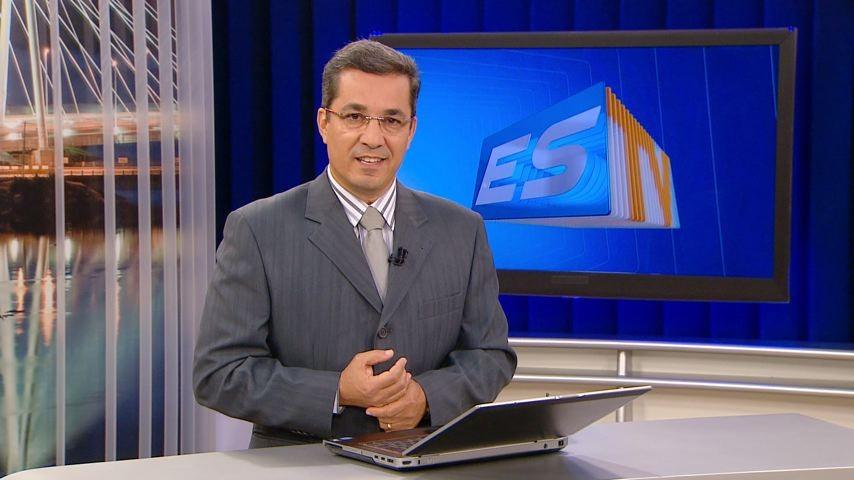 Ted Conti comanda o ESTV Segunda Edição (Foto: TV Gazeta)