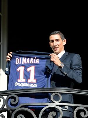 Di María Paris Saint-Germain (Foto: AFP)