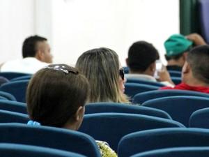Suspeita acompanhou palestras de apoio sociopsicopedagógico  (Foto: Diego Toledano/ G1 AM)